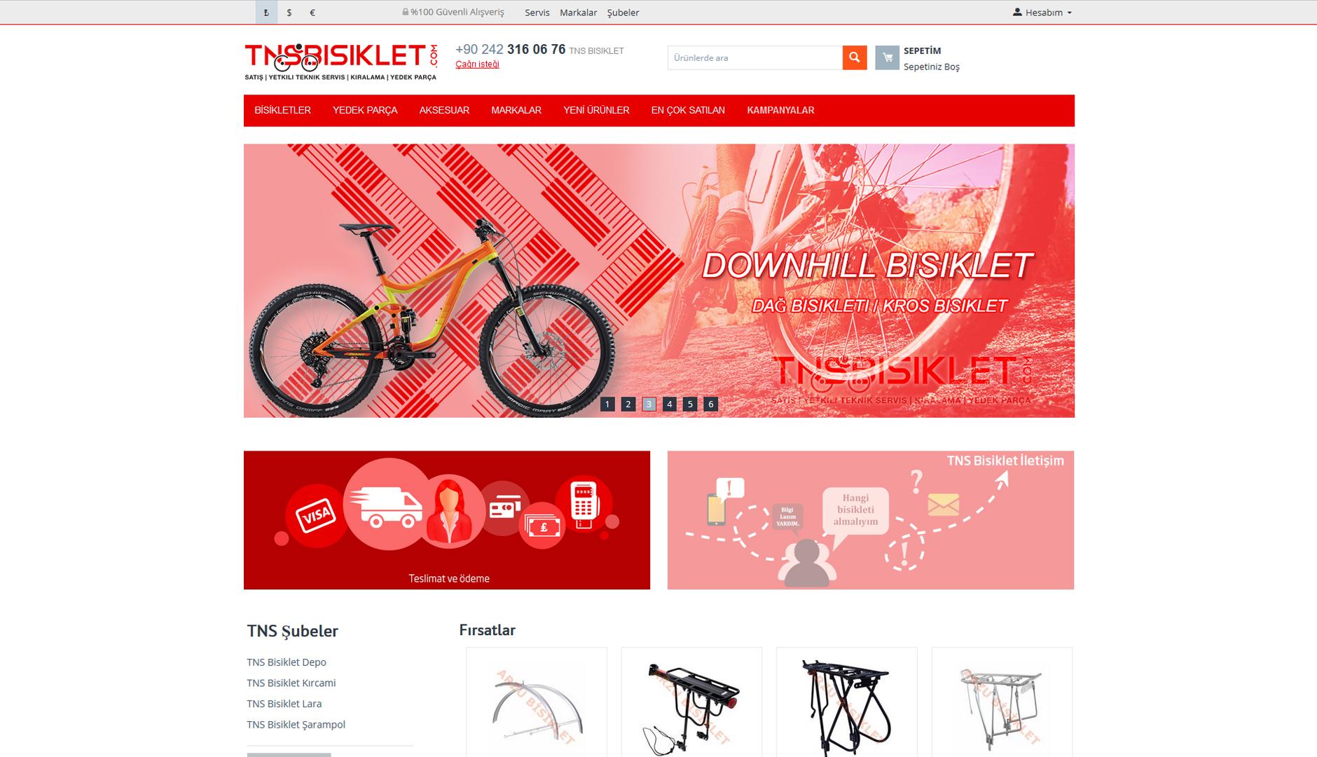 TNS Bisiklet Online Shop